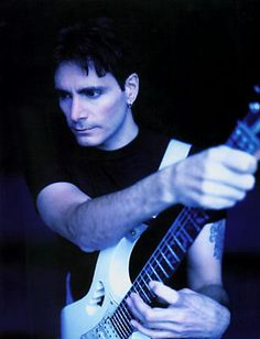 Steve Vai. Let's be real here - he's the god of guitar. No one is better than him yet he's such a humble and awesome person. What I would do to play with him...