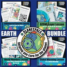 Earth Day EARTH Science Bundle Fun Facts About World & Environment Care & Help Colleagues Collaborat Science Curriculum, Science Resources, Teacher Resources, Earth Science Lessons, Science Fun, Activity World, Friendship Activities, The Learning Experience, Interactive Activities