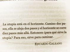 utopía Eduardo Galeano