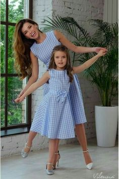 New Mother Daughter Dresses Bow Plaid Family Matching Outfits Blue O-neck Fashio. - - New Mother Daughter Dresses Bow Plaid Family Matching Outfits Blue O-neck Fashion Mom and Daughter Dress Women Kids Clothes Source by herokworld Mommy Daughter Dresses, Mother Daughter Dresses Matching, Mother Daughter Fashion, Mommy And Me Outfits, Dresses Kids Girl, Matching Family Outfits, Kids Outfits, Kids Frocks, Kind Mode