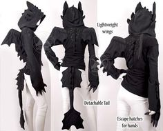 How To Train Your Dragon hoodie O. Would love to just own it orrr wear it on Halloween! Toothless Costume, Toothless Hoodie, Dragon Hoodie, Dragon Costume, Toothless Dragon, Toothless Pattern, Cosplay Diy, Cosplay Outfits, Cosplay Costumes