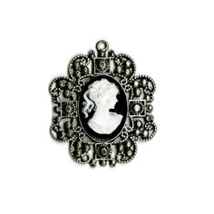 bead landing assorted metal fancy filigree pendant
