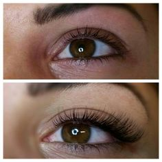 Semi Permanent Eyelash extensions.