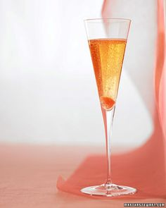 Classic Champagne Cocktail - New Year's Cocktail Idea