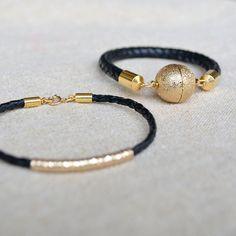 BRIDGED braided rope bracelet. $25.00, via Etsy.