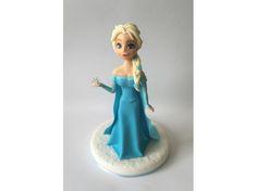 Frozen Fondant #Elsa #Cake