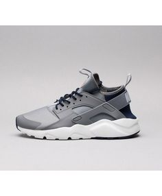 Nike Air Huarache Run Ultra Chaussures Gris Bleu Nike Huarache Ultra, Nike  Air Huarache, 729310e546