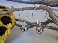 Silver Jewellery. Ethnic Jewellery. Silver earrings. Pendientes de plata. Joyería de plata. Joyería étnica.