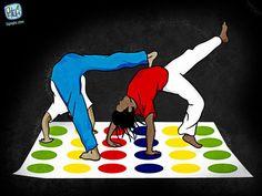 Capoeira twister