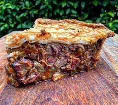 Details and comments of user & Pale Pie . Another fully loaded Brisket and Pale Ale Pie. Filled with Black Onyx Brisket which was rubbed with Brisket Rub. Smoked on the Big Joe over Premium Lump Charcoa Beef Brisket Recipes, Bbq Brisket, Meat Recipes, Cooking Recipes, Smoker Recipes, Game Recipes, Left Over Brisket Recipes, Diced Beef Recipes, Traeger Recipes