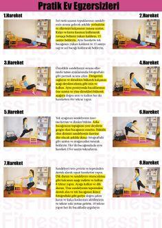 Monthly Fitness dan Evde Yapabiliceğiniz Pratik Ev Egzersizleri.. www.monthlyfitness.com