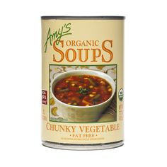 Shop Amy's Organic Chunky Vegetable Soup (2-pack) at wholesale price only at ThriveMarket.com