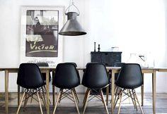 //Design et Création// La chaise eames DSW