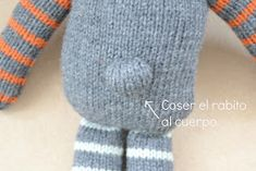 estherálvarezzzz: Otto: un osito paso a paso. Animal Party, Knitted Hats, Knitting Patterns, Teddy Bear, Dolls, Blog, Crochet, Diy, Facebook