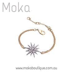 Star Jewelry trend @mokaboutiqueaustralia #móka #moka #mokaboutique #mokaaustralia #mokaboutiqueaustralia #fashion #style #trends #jewelry #jewellery #bracelet #star #crystals #diamond #diamonds #diamonte #jewels #gold #silver