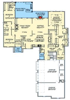 Fabulous Master Suite - 83824JW | 1st Floor Master Suite, Butler Walk-in Pantry, CAD Available, Corner Lot, European, French Country, PDF, Photo Gallery, Southern, Split Bedrooms | Architectural Designs