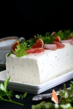 Meetvursti-kinkku -voileipäkakku - Suklaapossu Cake Sandwich, Sandwiches, Feta, Panna Cotta, Mango, Ice Cream, Favorite Recipes, Cheese, Baking