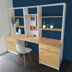 Build the perfect home office to suit your requirements from our modular range of components. Shelves, Funiture, Home Office, Home, Shelving Unit, Cube Storage, Mobile Storage, Storage Solutions, Shelving