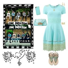 """~ One Direction ~ Four Album Photo Shoot ~"" by stylistic-1 ❤ liked on Polyvore featuring Music Notes, Kate Spade, Blumarine, Valentino, Jose & Maria Barrera, Buccellati and Argento Vivo"