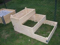 pallkrage tripptrapptrull Summer House Garden, Dream Garden, Container Gardening, Gardening Tips, Garden Stairs, Garden Care, Outdoor Areas, Raised Garden Beds, Garden Inspiration