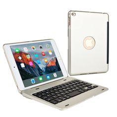 Cooper Kai Skel Keyboard Clamshell for Apple iPad Mini 1/2/3/4 - 1