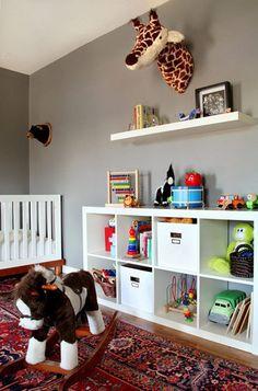 Efter Stormen Blog: IKEALove Expedit en el cuarto de los niños, IKEALove Expedit in kids room