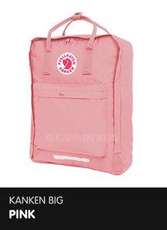 Kanken Big - Pink  http://www.ilovemykanken.com/shop/products/fjallraven-big-kanken-pink.htm
