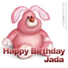 Happy Birthday, Jada!