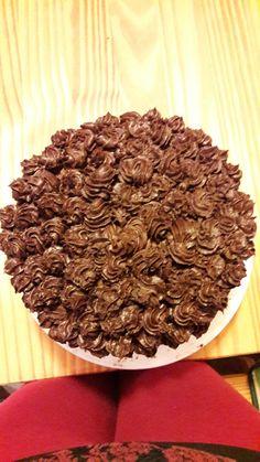 Espresso Schokolade Torte     mit schokoladigem Kardamon Frosting von Törtchenzeit