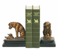 "Turtles Under Study By Labrador Retriever Dog Bookends Turtle Book Ends 6""H"