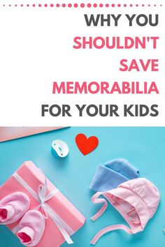 Got boxes of baby clothes, scrapbooks, and report cards in your attic that you're waiting to give to your kids when they grow up? You might want to reconsider. This post shares some compelling reasons why we SHOULDN'T save memorabilia for our kids and offers some heartwarming (and enlightening!) ideas for what to do instead. Read, enjoy, and cheers to more memories and less stuff! Minimalist Parenting, Minimalist Lifestyle, Kids Bedroom Organization, Life Organization, Declutter Your Home, Organize Your Life, Simple House, Our Kids, Travel With Kids