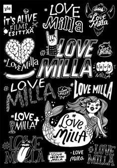 Lovemilla3 Illustrations, Illustration, Illustrators