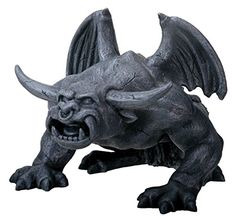 Bull Horned Gargoyle - Collectible Figurine Statue Sculpt…