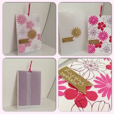 Birthday card with a vellum sleeve #card #papercrafting #su #stampinup #inksandpieces
