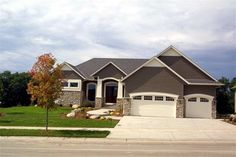 Rambler homes on pinterest custom homes before after for Rambler house plans mn