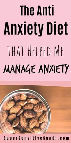 In this article, I share the anti-anxiety diet that helped me reduce and manage my anxiety. Find out 11 Principles behind this diet as well as a diet plan | SuperSensitiveSandi.com | anxiety relief food, anxiety relief remedies, natural anxiety relief vitamins, cure anxiety naturally, natural anxiety remedy, anxiety natural remedies, health anxiety remedies, natural ways to reduce anxiety, reduce anxiety naturally, holistic anxiety relief, anxiety relief tips, treating anxiety naturally