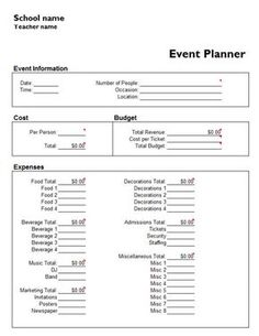 Event Planning Checklist  Business Planning    Event