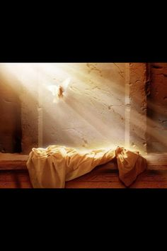 The Resurrection. After mourning for days, can you imagine the joy of finding His tomb empty? Of seeing him again?