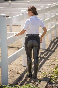 FITS Free Flex Full Seat Zip Front Breech| Black