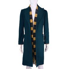 Image of Fantastic Beasts and Where to Find Them Newt Scamander Costume Coat andScarf Harry Potter Cosplay