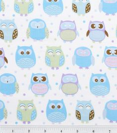 Novelty Cotton Fabric- Happy Owl Spot: fabric: Shop | Joann.com