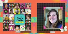 Two-Page Layout Strategy: Pair a Simple Grid with One-Page Design  Jennifer Kellogg   Get It Scrapped