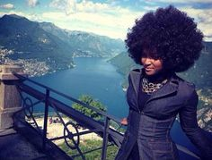 Afro in Paradise!