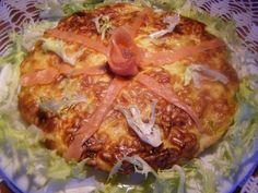 Recette Plat : Quiche sans pâte aux poireaux et saumon par Henriettes
