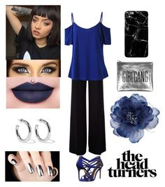 """""""👑The Head Turners👑"""" by dreamerz-dream-on ❤ liked on Polyvore featuring MaxMara, Ted Baker, Jeffree Star, Sophie Buhai, Sarah Baily and Accessorize"""