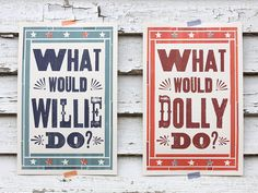 What Would Willie / Dolly Do // Dapper Paper // Raleigh, NC