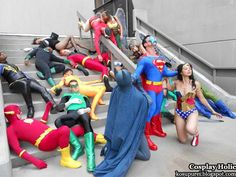 comic Cosplay | dc comics cosplay - justice league