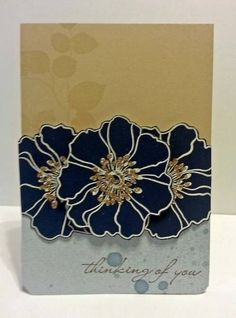 Thinking of you by Risa - Cards and Paper Crafts at Splitcoaststampers