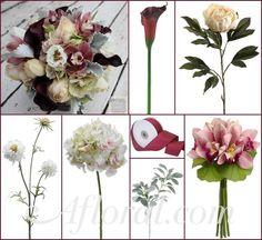 #vintage wedding #burgundy wedding #afloral http://blog.afloral.com/inspiration-boards/princesss-burgundy-beach-bouquet-inspiration-board/