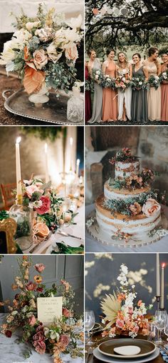 Wedding Trends: 25 Stunning Dusty Orange Wedding Color Ideas for 2019 dusty orange,blush pink,taupe and grey fall wedding colors Always wanted to learn how to knit, yet not certain where to . Orange Wedding Colors, Fall Wedding Colors, Autumn Wedding, Wedding Color Schemes, Rustic Wedding, Wedding Flowers, Blush Fall Wedding, Taupe Wedding, Orange Weddings